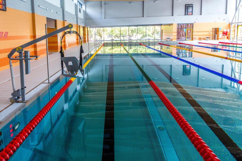 nauka pływania dorosłych - basen rataje