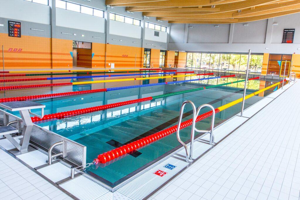 nauka pływania dzieci - basen rataje
