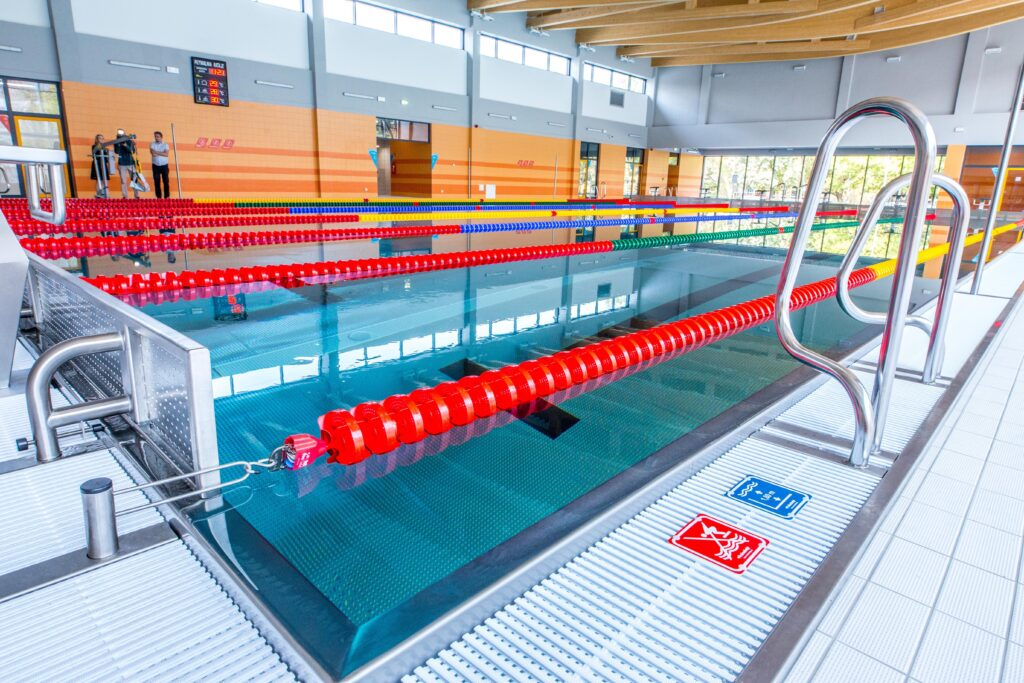 nauka pływania niemowląt - basen rataje